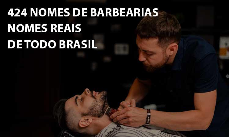 424 Nomes de barbearias: confira e se inspire