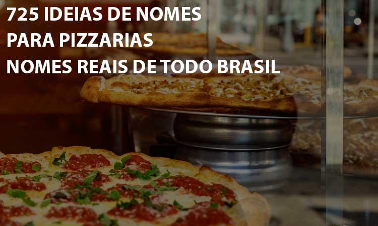 725 Ideias de nomes para pizzarias para inspirar a sua