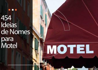 454 Ideias de Nomes para Motel: nomes criativos que chamam atenção