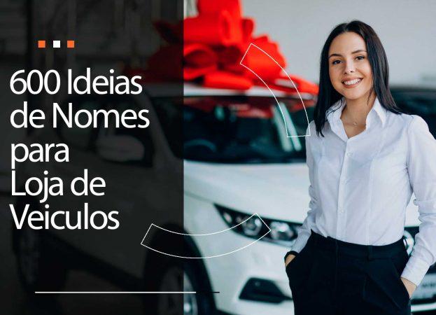 600 Nomes para loja de veículos: inspire-se!